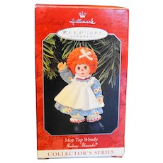 Hallmark Madame Alexander Mop Top Wendy Ornament