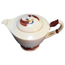 Vernon Kilns Monterey Teapot Metlox Poppytrail