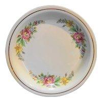 Homer Laughlin Kitchen Kraft Spring Wreath Pie Plate