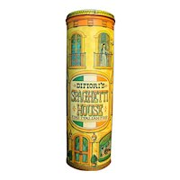 Difiori's Spaghetti House Tin Canister Chein Industries 1979