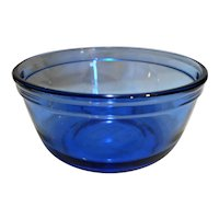 Anchor Hocking Mix Measure Cobalt Blue 1 Quart Mixing Bowl