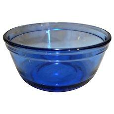 Anchor Hocking Mix Measure Cobalt Blue 1 Quart Mixing Bowl