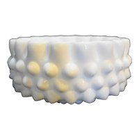 Fenton Hobnail Milk Glass Candy Box Base Only
