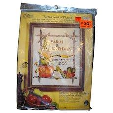 Paragon Needlecraft Farm & Garden Seed Catalog Kit 0327 1975