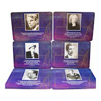 Irish Writers Placemats Set of 6 Picture Press Limited