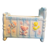 Napco Napcoware Baby Bed Crib Planter