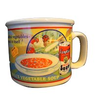 Campbell's Vegetable Soup Mug 1994 Westwood