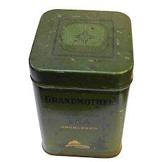 Grandmother's Green Japan Tea Tin