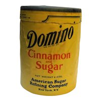 Domino Cinnamon and Sugar Cardboard Shaker Canister Small