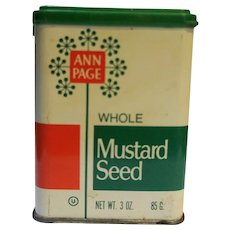 Ann Page Mustard Seed Spice Tin