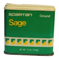 Spartan Tin Ground Sage 1980s