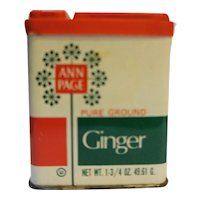 Ann Page Pure Ground Ginger Spice Tin