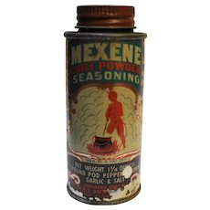 Mexene Chili Powder Seasoning Tin 1 1/4 Oz
