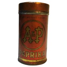 A&P Paprika 1 1/2 Oz Tin