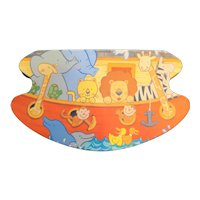 Noah's Ark Tin Colorful Animals
