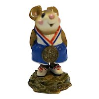 Wee Forest Folk Victor MS-18 Red White Blue 1996 WFF