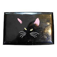 Memory Cats Otagiri Black Lacquer Music Jewelry Box