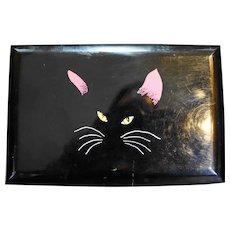 Memory Cats Otagiri Black Lacquer Music Jewelry Box