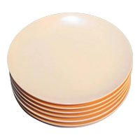 Royalon Melmac Pale Pink Bread Plates Set of 8