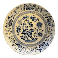 Blue Onion Japan Chop Plate Round Platter
