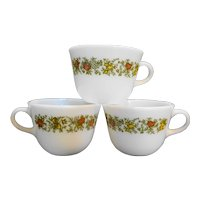 Pyrex Spice of Life Cups Set of 3