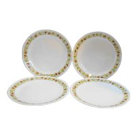 Corning Corelle Spice of Life Dinner Plates Set of 4
