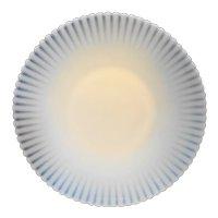 MacBeth Evans Ivrene Ivory Petalware Plate Platter