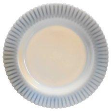 MacBeth Evans Ivrene Ivory Petalware Plate 9 IN