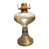 Clear Glass Oil Lamp Plain