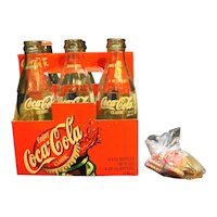 Notre Dame Women's Basketball 2001 Champions Coca-Cola Commemorative Bottles