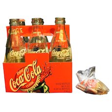 Notre Dame Women's Basketball 2001 Champions Coca-Cola Commemorative Bottles