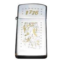 Zippo Lighter 1776 Bicentennial Liberty Bell