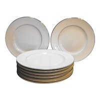 Crown Victoria Lovelace Salad Plates Set of 8