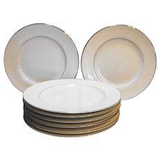 Crown Victoria Lovelace Salad Plates Set of 8