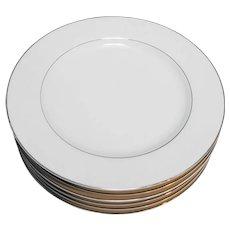 Crown Victoria Lovelace Dinner Plates Set of 6