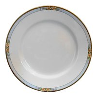 J&G Meakin Nebraska Blue Coupe Dinner Plate