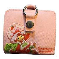 Strawberry Shortcake Wallet Pink Canvas
