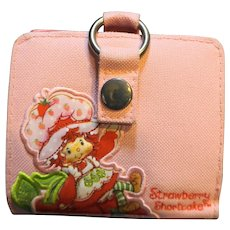Strawberry Shortcake Wallet Pink Canvas