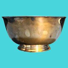Oneida Paul Revere Silverplated Bowl 8 IN