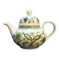 Seltmann Weiden Green Onion Small Teapot W Germany