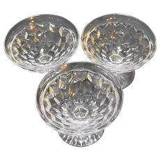 Fostoria American Low Flared Sherbets Set of 4