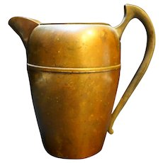 Federal Silver Co Copper Pitcher Jug