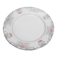 Mikasa Valentine 5007 Salad Plate Pink Roses