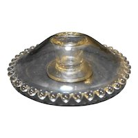 Imperial Candlewick Single Light Domed Candle Holder