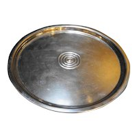 Chrome Lazy Susan 1950s Made in USA