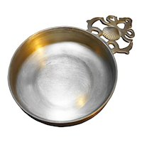 Pewter Crafters Cape Cod Porringer Seashell Handle