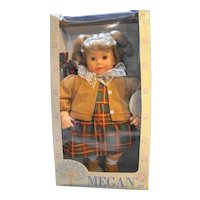 Cititoy Megan Special Edition Vinyl Doll 19 IN New in Box Vintage 1990