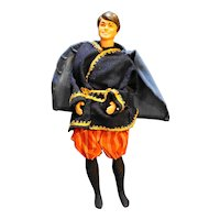 Ken Doll 1968 Taiwan Bendable Waist Brown Hair Eyes Prince Charming