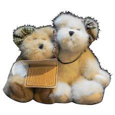 Boyds Bears Bestest & Buddy Truefriends #903005 T.J.'s Best Dressed