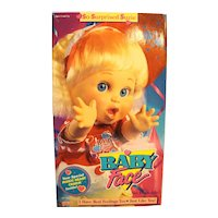 Galoob Baby Face So Surprised Suzie 1990 New Never Removed from Box 13""